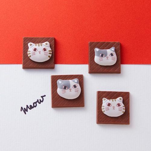 ねこチョコ メレンゲのチョコレート