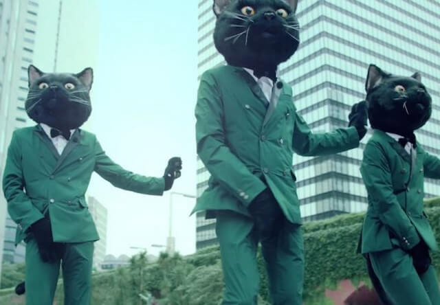 ヤマト運輸が公開した「猫ふんじゃった」ミュージックビデオのダンスシーン写真3