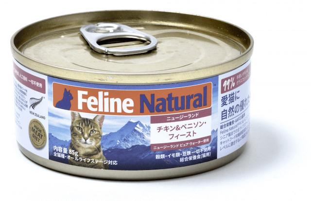 「K9ナチュラル プレミアム缶フード」チキン& ベニソン・フィースト (鶏肉と鹿肉のご馳走)