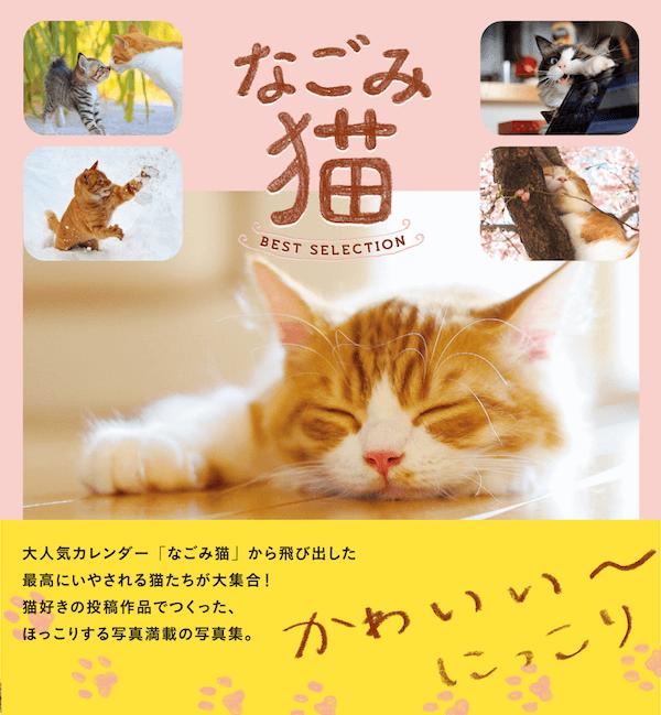 ネコ写真集「なごみ猫 BEST SELECTION(ベストセレクション)」