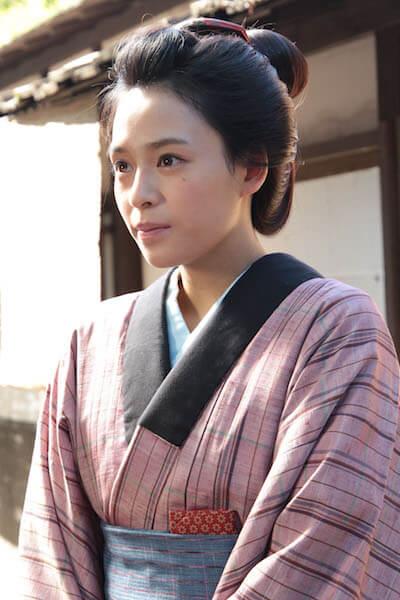 ドラマ版「猫忍」で町娘の幸を演じる大沢ひかるさん