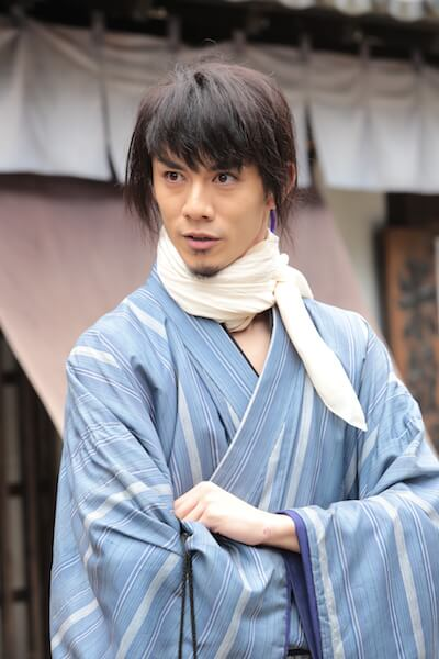 ドラマ版「猫忍」で主人公の先輩忍者・左之助役を務める、青木玄徳さん