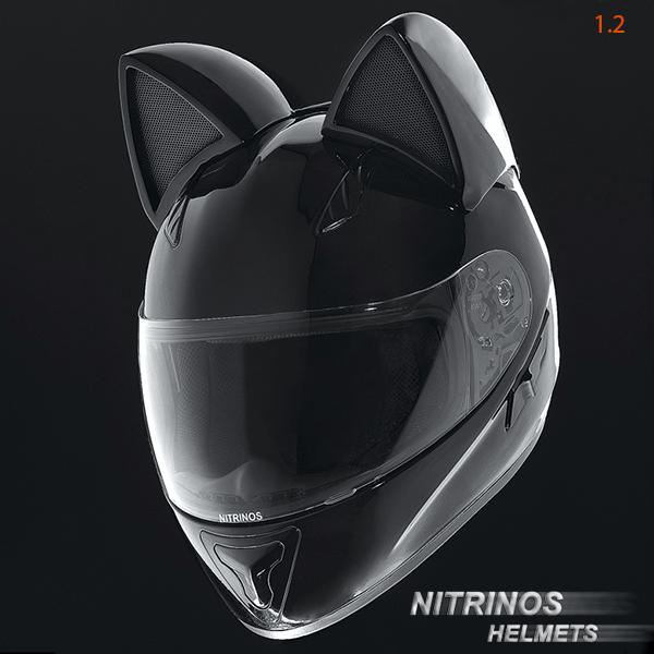 ロシア製の「Neko-helmet(ネコ・ヘルメット)」ブラックカラー