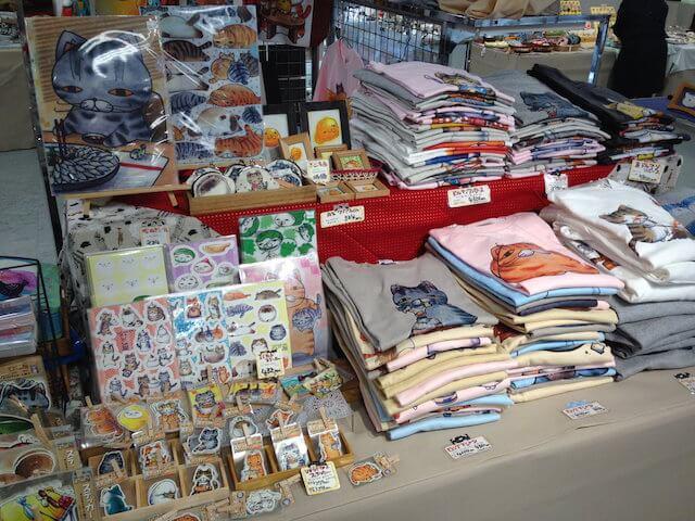 大阪ニャン博2016に出店している、ひこ家(作家雑貨)
