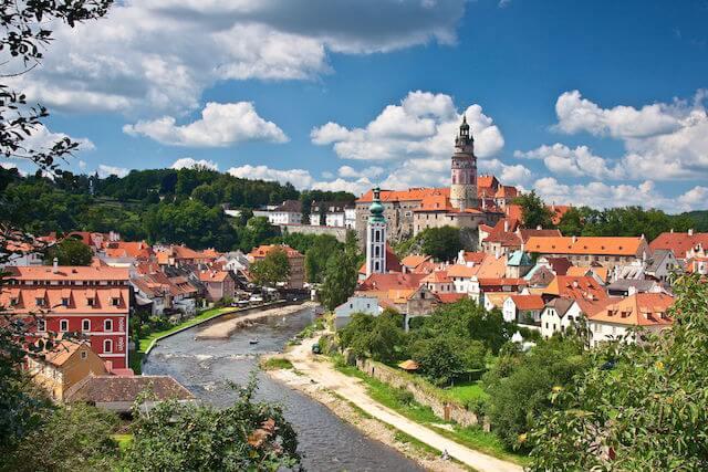 チェコの世界遺産、世界で一番美しいと街とも称される「チェスキー・クルムロフ」