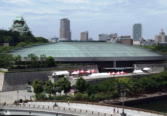 大阪城ホールの外観