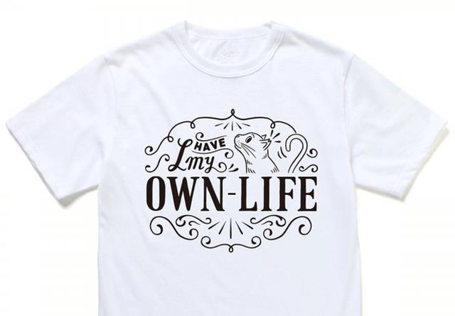 ファッションブランド「JAMMIN(ジャミン)」から、猫の不妊手術を支援できるTシャツが販売
