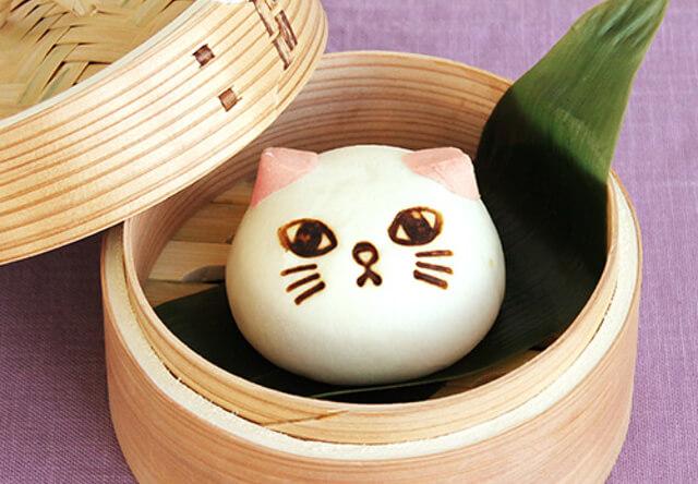 猫の形をした中華まん「ニャムチャ」シリーズに肉まんが登場