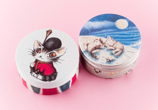 全身用保湿クリームSTEAMCREAM、猫のダヤンのデザイン缶を発売