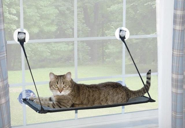 K&H Pet Productsの猫ベッド「EZ ウィンドウ マウント」