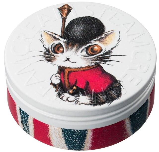スチームクリーム×猫のダヤン「ベイビィダヤン・イン・ロンドン」