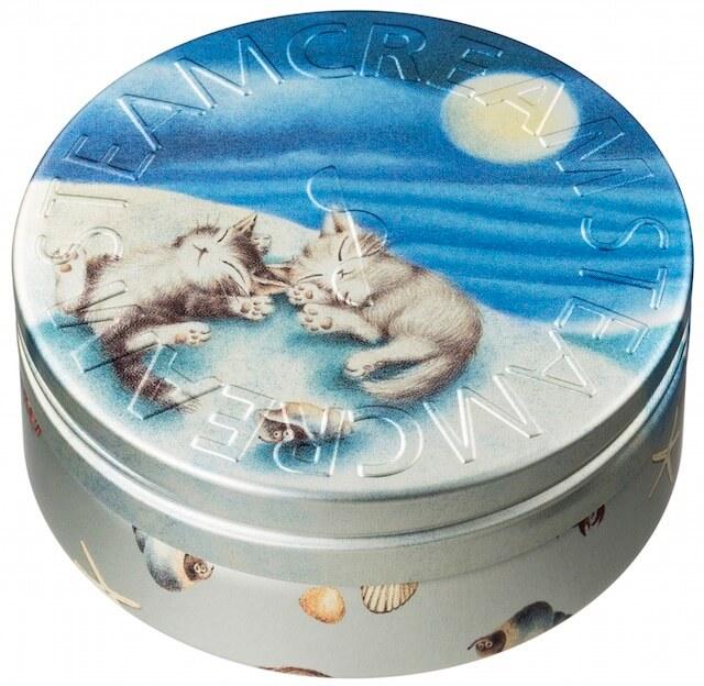 スチームクリーム×猫のダヤンの限定パッケージ「フェル・アスリープ・トゥギャザー」