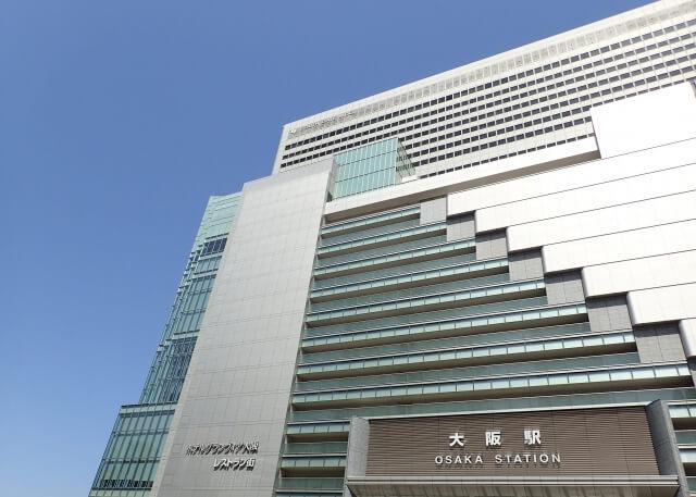 JR大阪駅・大丸梅田店の外観