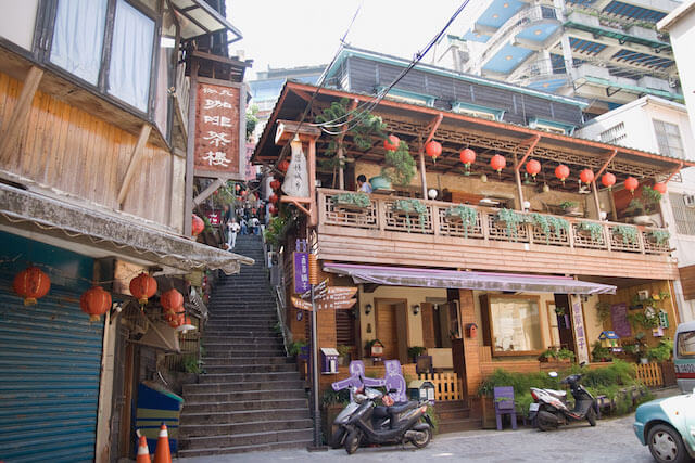 千と千尋の神隠しのモデルになったとも噂された、台湾・九份の街並み
