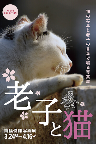 南幅俊輔写真展「老子と猫」