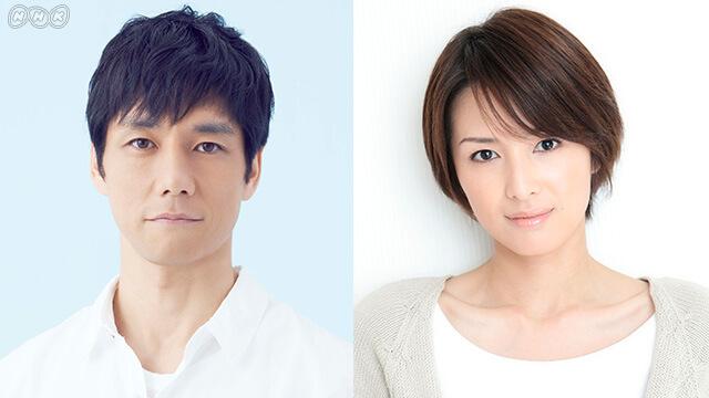 NHKドラマ10 「ブランケット・キャッツ」に出演する、西島秀俊・吉瀬美智子