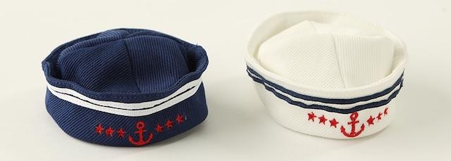 3COINS(スリーコインズ)」の猫でも装着できるセーラー帽