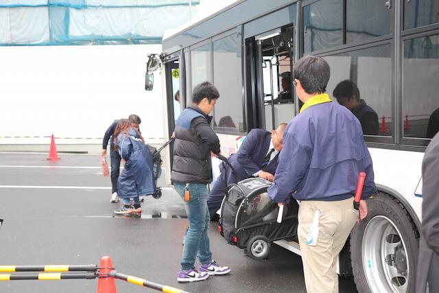 インターペットの送迎バス