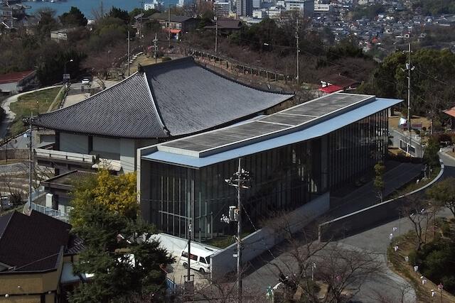 尾道市立美術館の外観