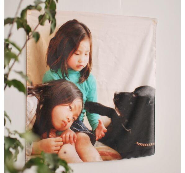 写真からハンカチを作れる「nuu.uno (ヌーノ)」の実物イメージ