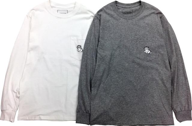 ガーフィールド(GARFIELD)×BEAUTY&YOUTHのロングTシャツ