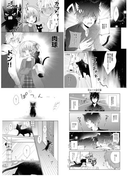 黒猫・おはぎと、飼い主・ひまりのすれ違いラブエピソード