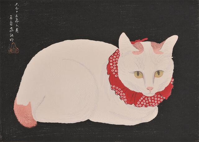 高橋弘明の猫作品「ジャパニーズ・ボブテイル」