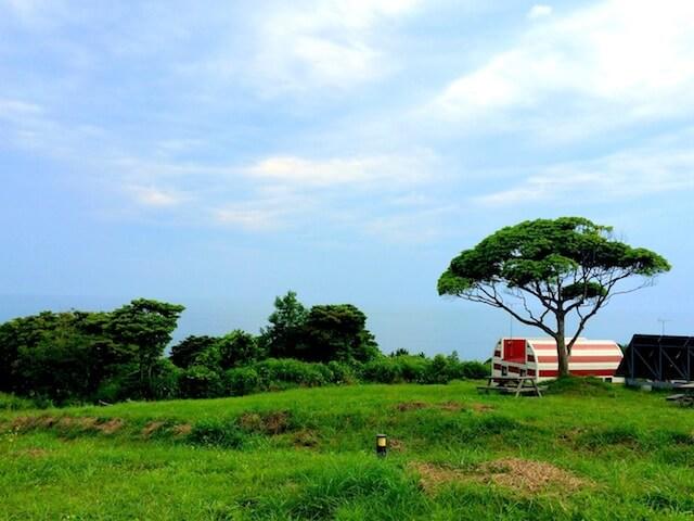 石巻市・仙台湾内に浮かぶ田代島の風景