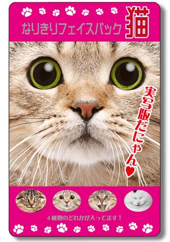 なりきりフェイスパック〜猫〜