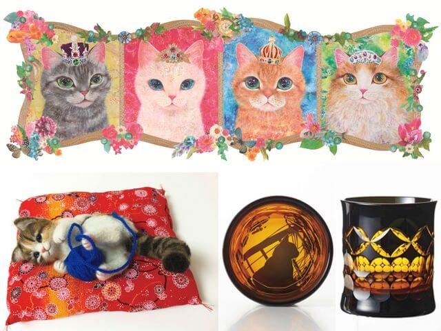 阪神本店に猫作品やグッズが集合!まるごと猫フェスティバル2017