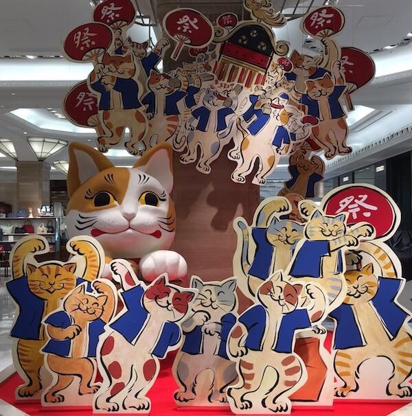 日本橋三越本店で開催される、祝神田祭~ねこと遊ぼう~猫だ!まつり