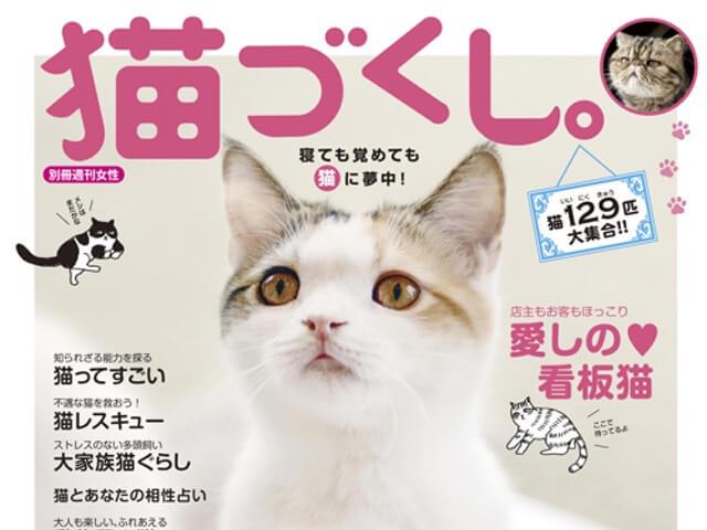 雑誌・猫づくし。 (別冊週刊女性)