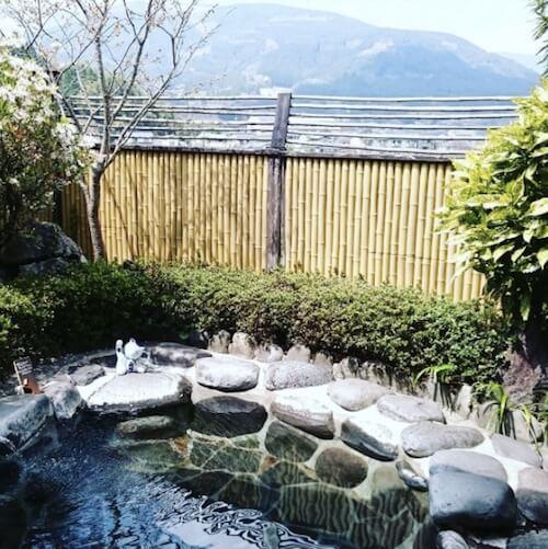 湯布院の温泉「笑ねこの湯」