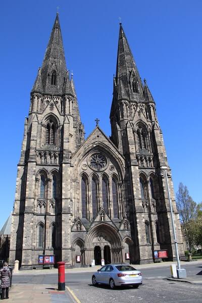 スコットランド・エディンバラ市内にあるセントメアリーズ大聖堂