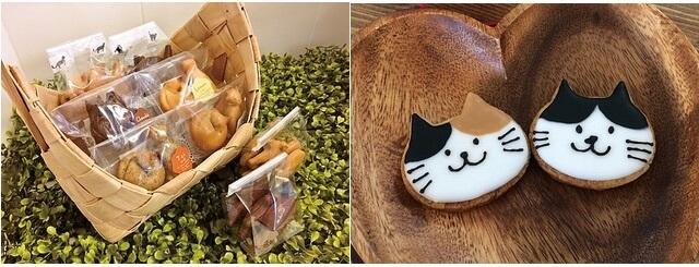 ねこねこわっしょい!7で販売される猫モチーフの焼き菓子