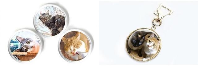 愛猫の写真で作ってもらえる、オリジナル猫雑貨