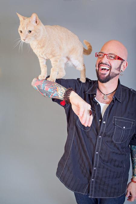 猫の行動専門家、ジャクソン・ギャラクシー(Jackson Galaxy)