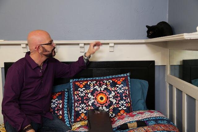 問題行動を取る猫とコミュニケーションを図る、ジャクソン・ギャラクシー(Jackson Galaxy)