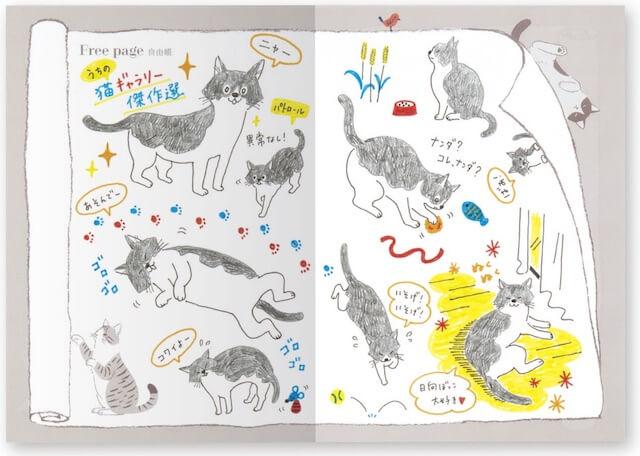 愛猫健康手帳、フリーページ