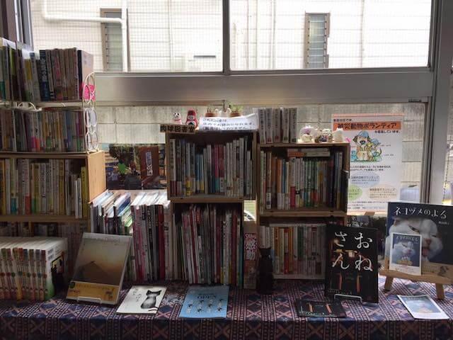 ギャラリー・パウ・パッド(肉球画廊)で猫本が読める肉球図書室