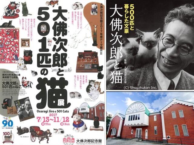 猫を愛した作家・大佛次郎の生誕120年企画展「大佛次郎と501匹の猫」