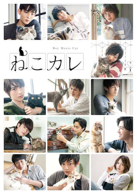 13名の俳優×猫の写真集 by ムック本「ねこカレ」