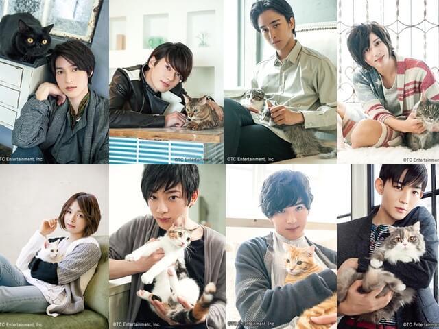 人気俳優と猫の写真展「ねこカレ」、13枚のツーショット写真を一挙公開、竜星涼のコメントも