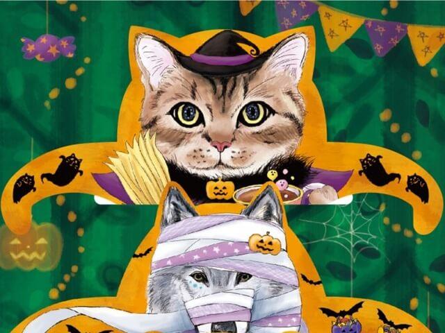 ハロウィンパーティに最適!仮装したネコやクマのティーバッグが登場