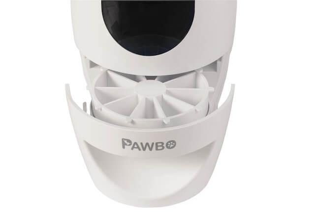 パウボプラス(PAWBO+)のオヤツ収納スペース