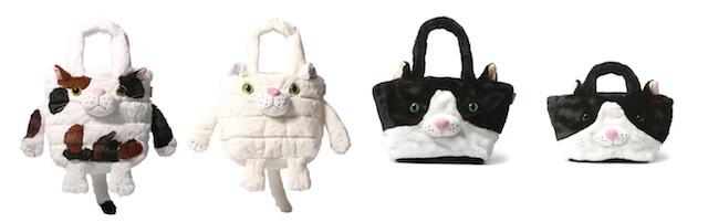 猫トートバッグ「RT.デリ SN ZOO」「SN Fur Animal」