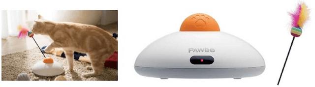 遠隔操作で猫と遊べる猫じゃらしし「PAWBO Catch(パウボ キャッチ)