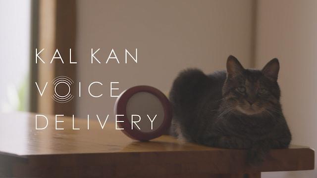 カルカンが敬老の日を記念して制作した動画「KAL KAN VOICE DELIVERY」