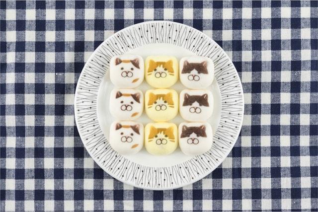 KOZACLA(コザクラ)がデザインした猫の和菓子・鳳瑞(ほうずい)