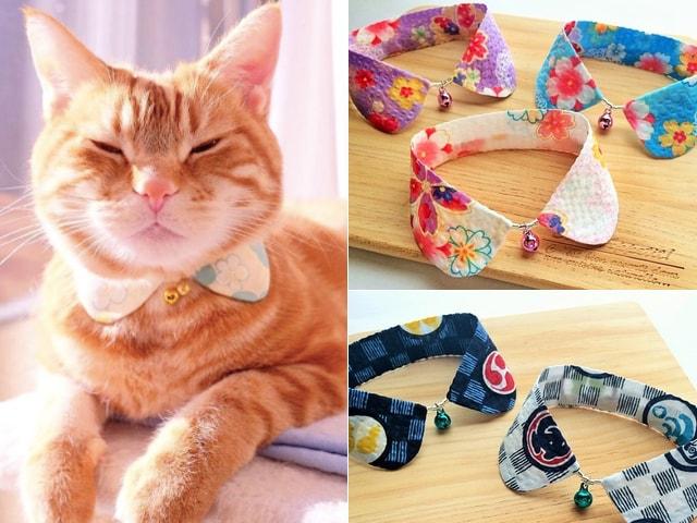 病気やケガの猫を応援!可愛い猫用の「つけ襟」キャンペーン開催中